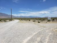 2631 E Simkins Rd | View  looking east towards Mt Charleston from corner of property at E Simkins and Power Line Rd.